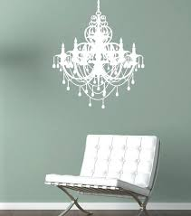 chandelier wall decal wall decal chandelier white designs gold chandelier wall decal