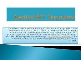 Medical Presentations Medical Ppt Templates Authorstream
