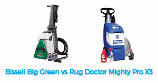 bis big green vs rug doctor which one is best