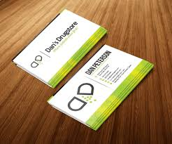 pharmacy design company bold masculine business card design for dan peterson by jeffdefy