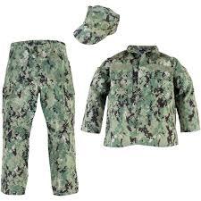 Trooper Clothing Kids Navy Nwu Iii Uniform 3 Pc Set Boys