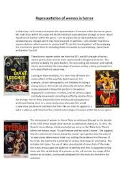 gender stereotype essay stereotypes a big problem in our modern  representation of women in horror essay