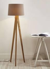 Diy Wood Floor Lamp Decor Awesome Tripod Lamp For Interior Lighting Ideas