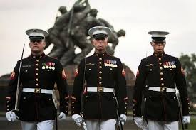 United States Marine Officer Marine Corps Dress Blues Unif Us Marine Corps Office