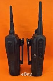 motorola walkie talkie cp200. lot of 2, motorola radius cp200 uhf 16ch abz99ft4056 two way radio walkie talkie