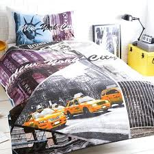 ideal bedding one stop manchester pieridae new york city scene duvet quilt bedding cover new