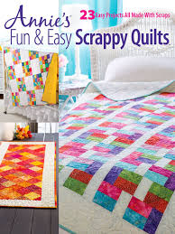 Fun & Easy Scrappy Quilts &  Adamdwight.com