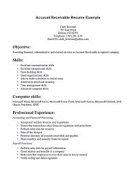 Account receivable resume shows both technical and interpersonal skills you  have. Your professional summary or