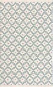 dash and albert samode light blue ivory indoor outdoor rug for cottage bungalow