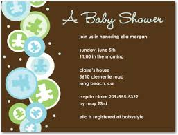 Sample Baby Shower Invitations Baby Showers Ideas