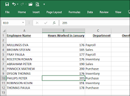 uppercase text in excel