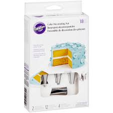 Wilton Cake Dessert Decorating Set 18 Piece Walmartcom
