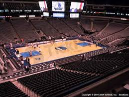 Dallas Mavs Stadium Seating Chart American Airlines Center Seat Views Section By Section