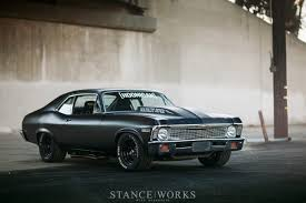 All Chevy all chevy muscle cars : Napalm-Nova-brian-scotto-flat-black-hot-rod-burnout | Chevrolet ...