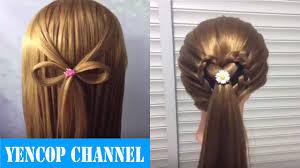 2 Peinados Faciles Y Rapidos Con Cabello Suelto Con Trenzas P3