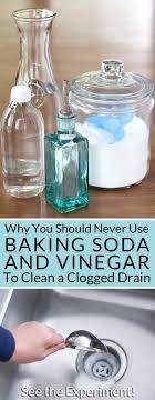 unclog bathtub baking soda how to unclog your