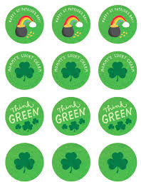 printable st patrick s day stickers