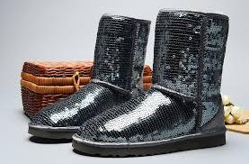 UGG Women Classic Short Sparkles 3161 Boots Grey