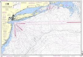 Noaa Chart 12300 Approaches To New York Nantucket Shoals To Five Fathom Bank