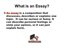 writing paragraph essays ppt video online  what is an essay