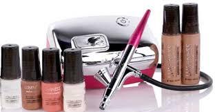 luminess air heiress makeup beauty system