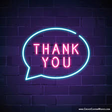 Electronic Thank You Card Free Free Thank You Greeting Cards Maker Online Create Custom