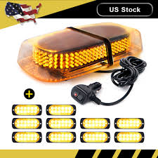 Strobe Light Cake Details About 240 Led Emergency Top Roof Flash Beacon Strobe Light Amber 10pcs 12 Led Lights
