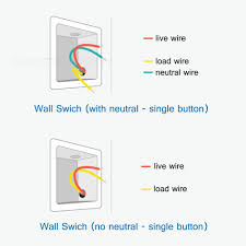 Neutral Wire Light Switch