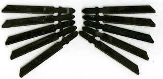 skil jigsaw blades. 10 x bosch type t- shank tungsten grit edge jigsaw blade skil blades n