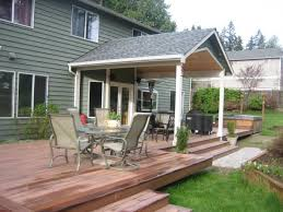 covered porches with attached deck | ... from roof deck 1-in.