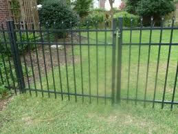 Fence For Backyard Full Height For Sides And Back Lower Height Gates For Backyard