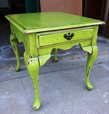 green colored furniture. Distressing Furniture With A Chain Green Colored