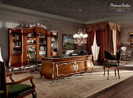 Design Classic Office Chair Wooden Desk Classic Commercial Villa Venezia 11305