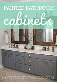sophisticated painting bathroom cabinets diy painted mark twain house ombre gray