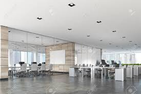 Glass conference rooms Glass Walls Stock Photo Two Conference Rooms With Glass And Wooden Walls And An Open Space Open Office Area Poster 3d Rendering Mock Up Liquid Indonesia Two Conference Rooms With Glass And Wooden Walls And An Open Stock