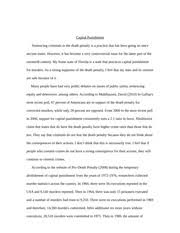 cause and effect friction between college roommates going away  6 pages capital punishment final essay