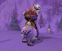 ) mount, had to screen it! Wow Tcg Loot Big Blizzard Bear