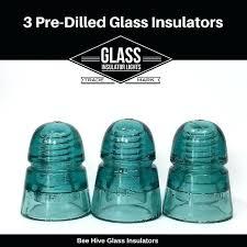 glass insulator lights 3 drilled glass insulator for insulator lights glass insulator pendant light parts kits glass insulator lights