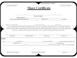 Template Share Certificate Stock Request Form Template Free Design Transfer Word