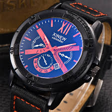top designer watches promotion shop for promotional top designer xinew mens watches top brand luxury designer fashion male quartz multifunction time zone calendar clock business wristwatches