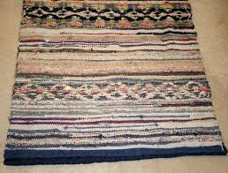 swedish rag rug vintage rag soft colours in this long hall runner it would look fantastic