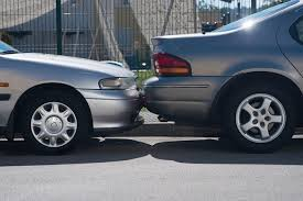 minor car accident. hitting a parked car in minor accident n