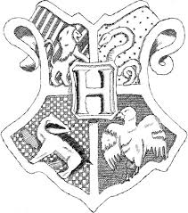 Small Picture Coloring Download Hogwarts Crest Coloring Page Hogwarts Coat Of