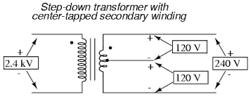 single phase power systems polyphase ac circuits electronics Transformer Wiring Diagram Single Phase single phase power systems polyphase ac circuits electronics textbook single phase transformer wiring diagram