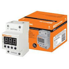 <b>Реле напряжения TDM ELECTRIC</b> 1ф серии LED-дисплей 63 А ...