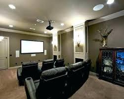 small media room ideas. Small Media Room Ideas Basement Decorations . R
