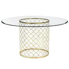 regina andrew furniture mosaic antique gold leaf dining table