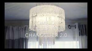 dollar tree chandelier 2 0