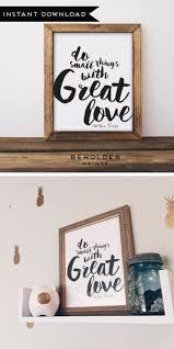Digital Download Dorm Decor Mother Teresa Quote Faith Print Love Interesting Love Inspiration Pics Download