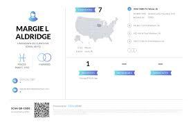 Margie L Aldridge, (319) 372-7387, 3546 168th St, Wever, IA   Nuwber